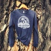 Montana Take a Backroad Long Sleeve-Heather Navy