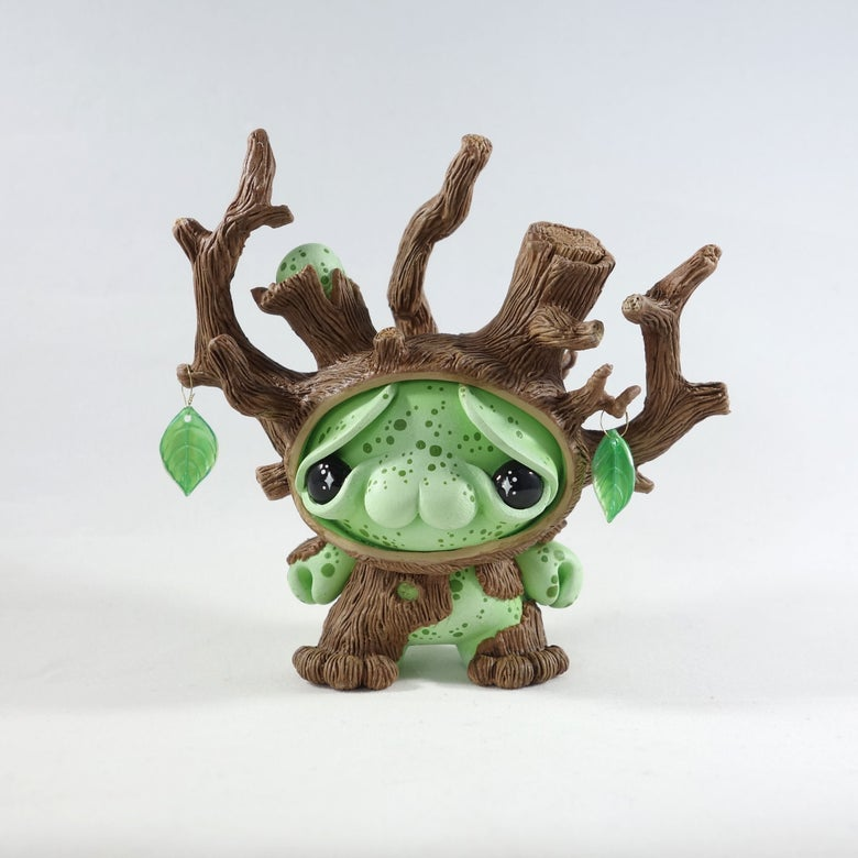 "Image of Oakley the Almost Wise - 3"" Custom Kidrobot Dunny"