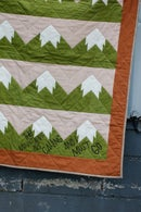 Image 2 of SNOWY MOUNTAIN QUILT Pattern PDF