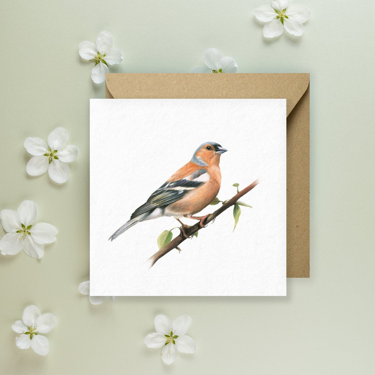Image of 'Chaffinch' Greeting Card