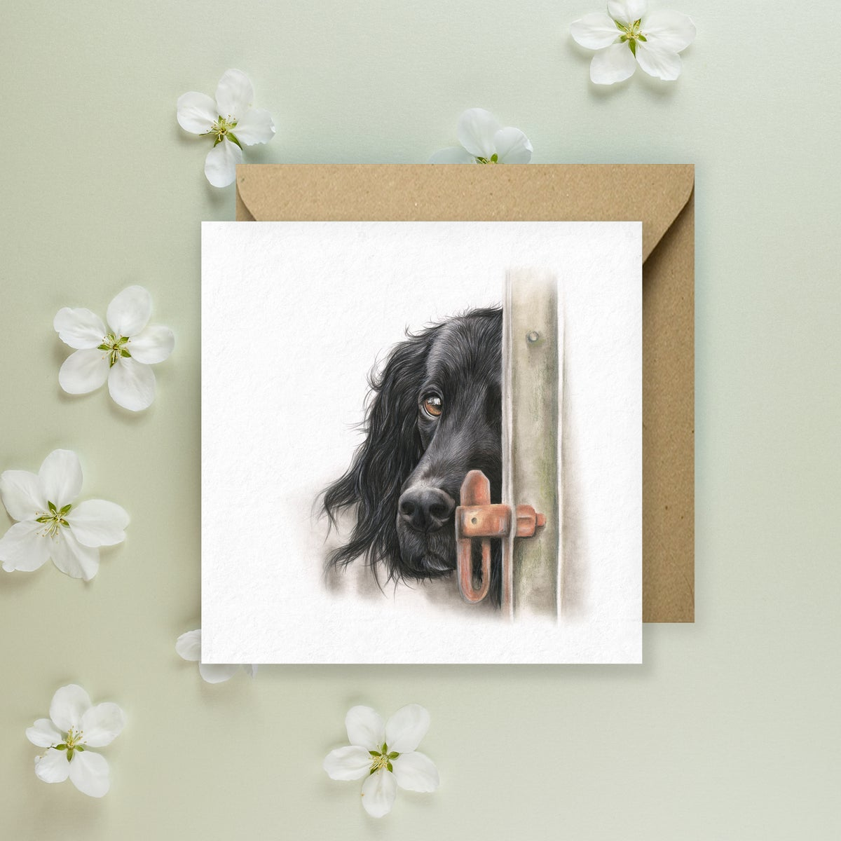 Image of 'Ready and Waiting' Greeting Card