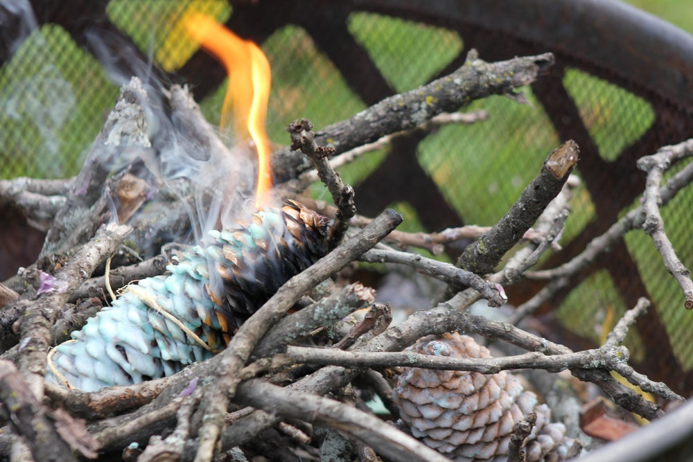Image of Natural Pinecone Firestarter