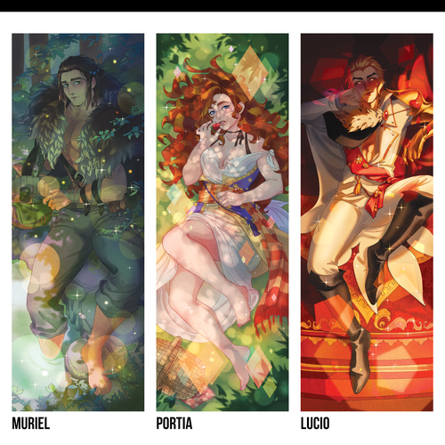 Image of The Arcana ✦ Body Pillow Cases