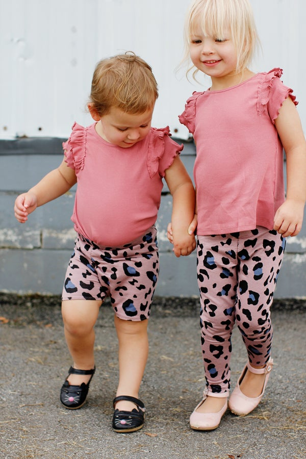 Image of the SEPTEMBER LEGGINGS + BIKE SHORTS kids 18M-10