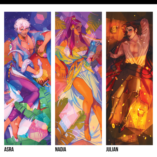 Image of The Arcana ✦ Acrylic Charms/Standees