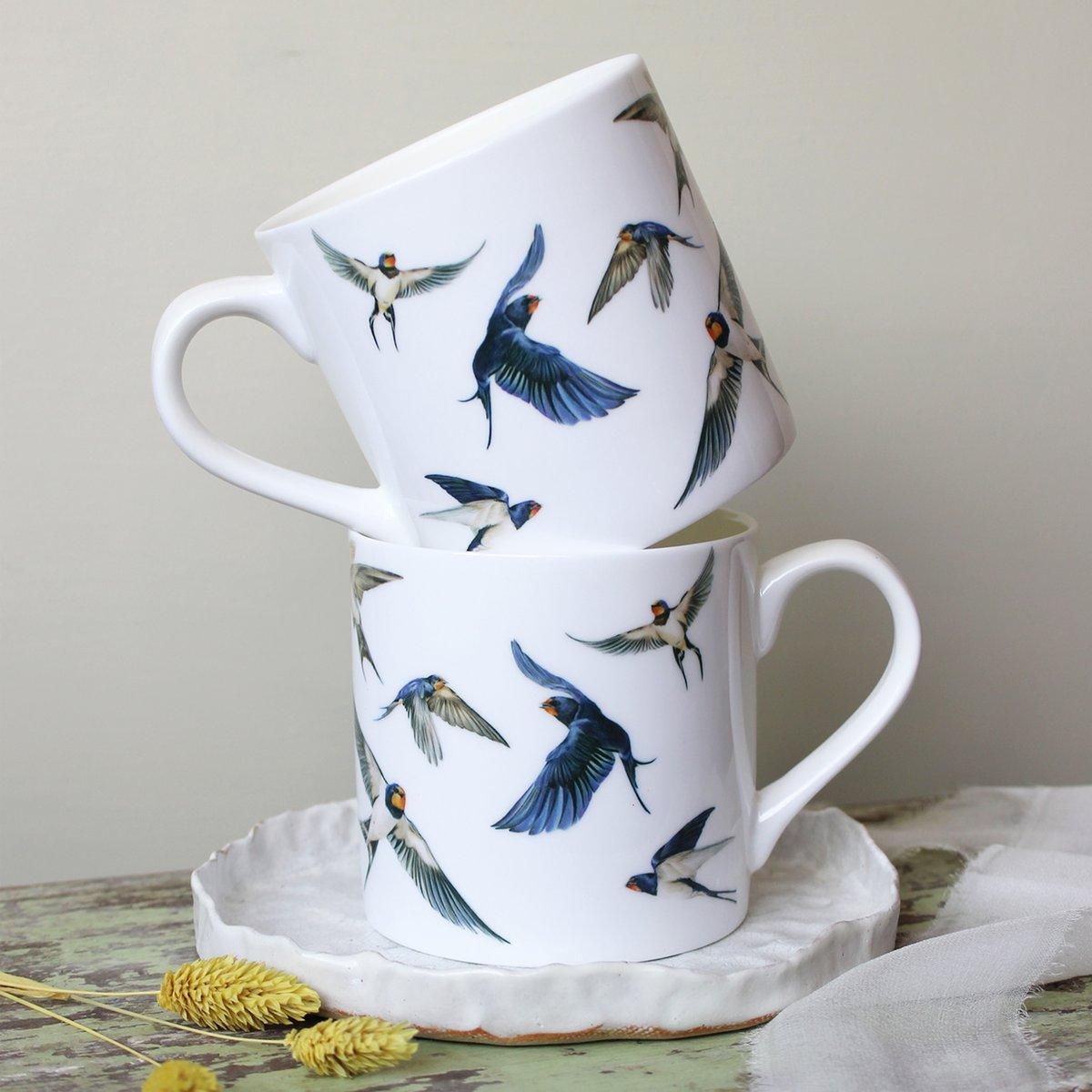 Image of 'Swallows' Mug