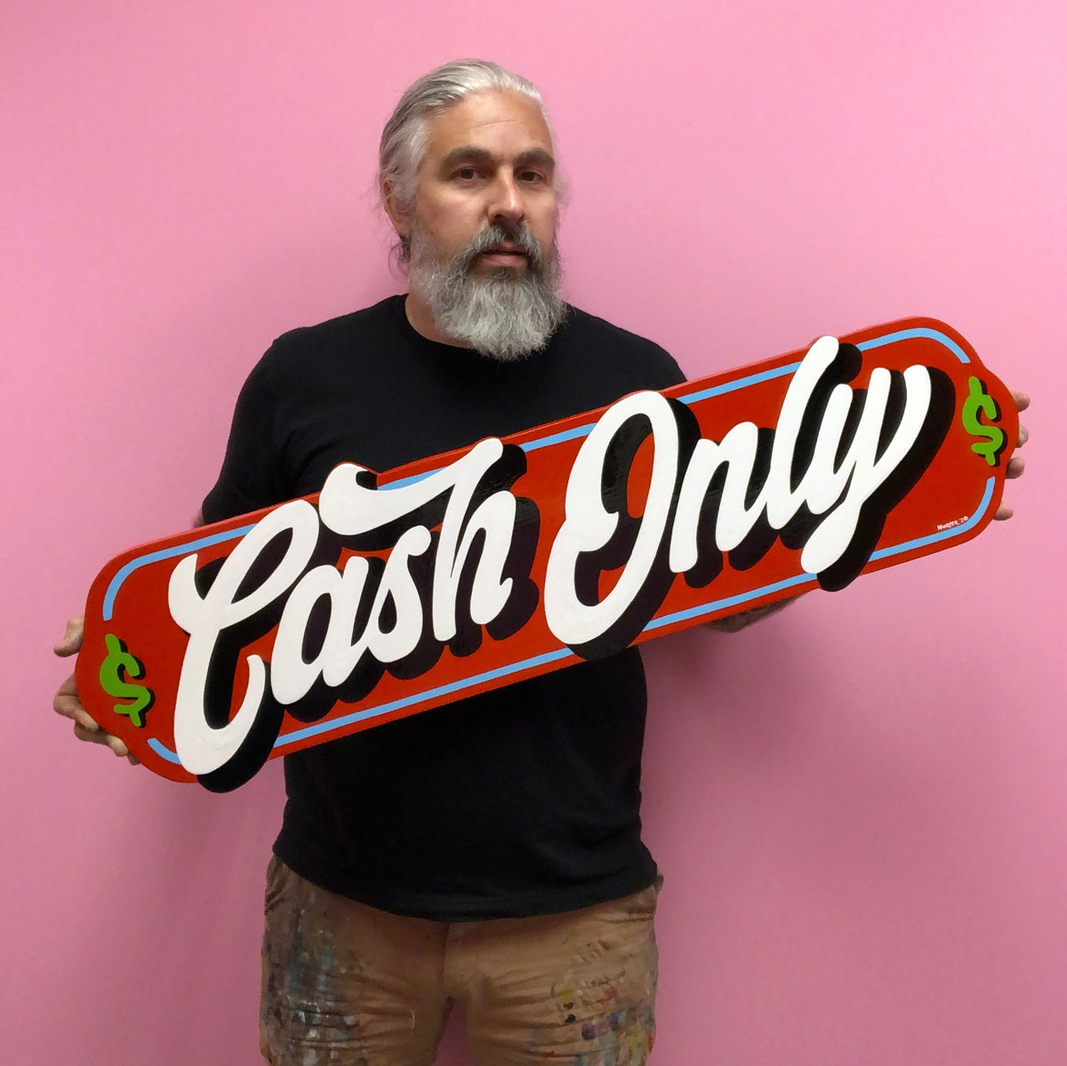 Image of Cash Only Sign