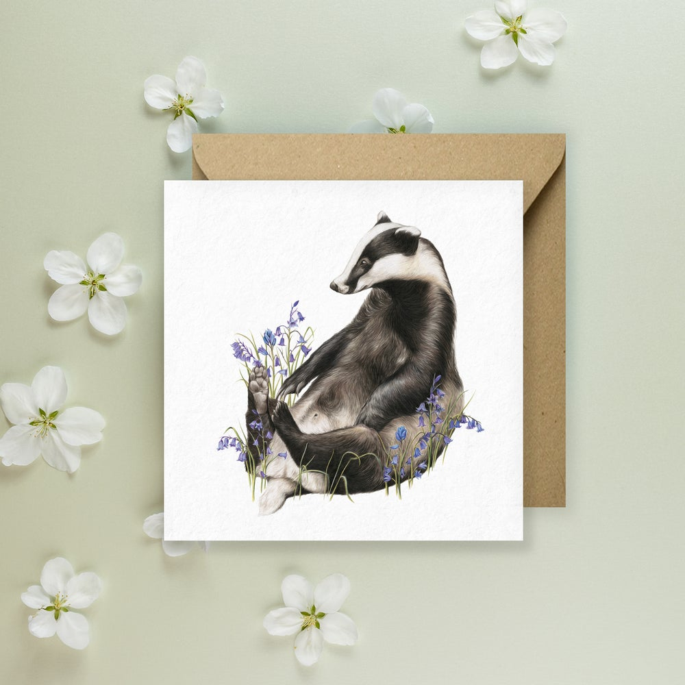 Image of 'Bella Bluebell' Greeting Card