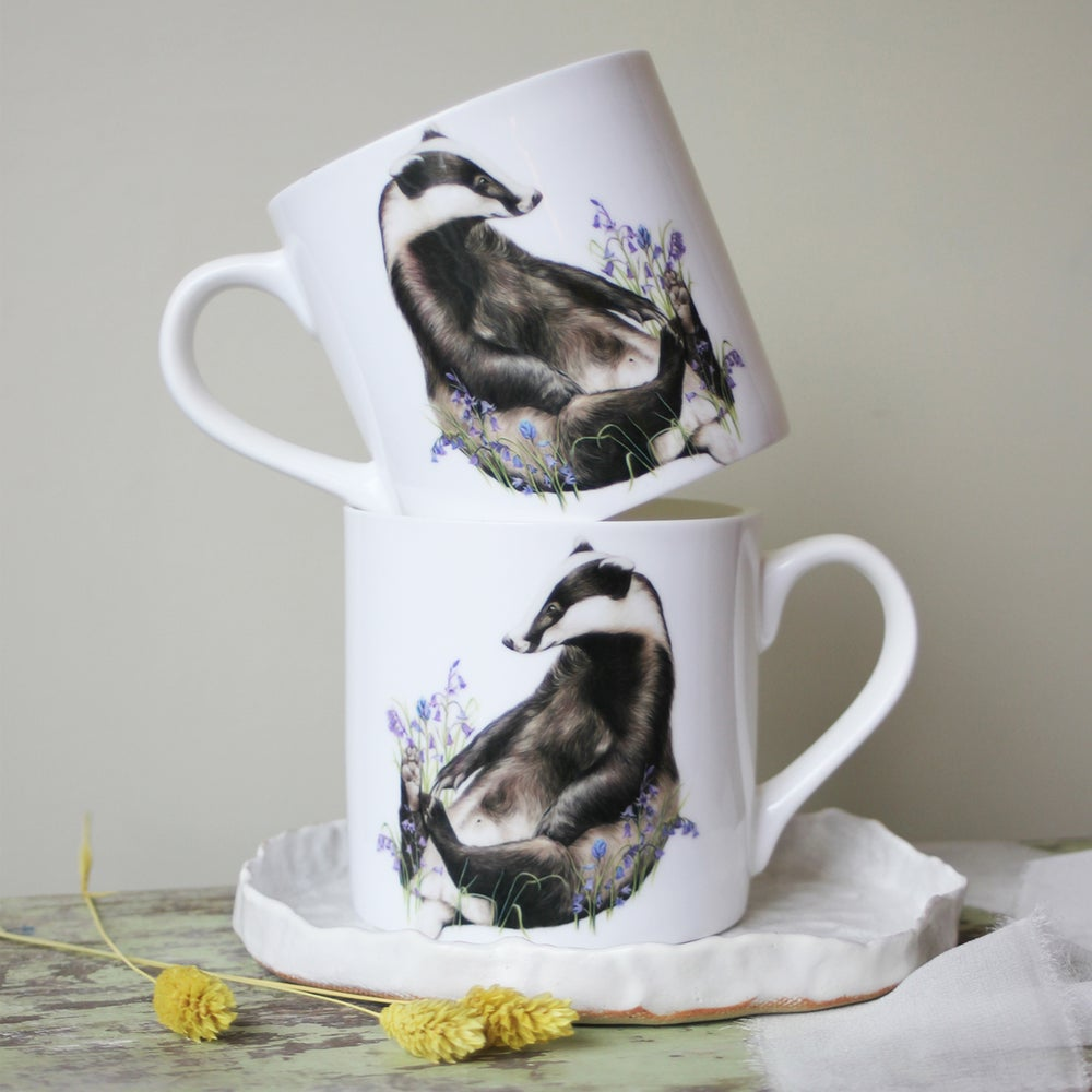 Image of 'Bella Bluebell' Mug