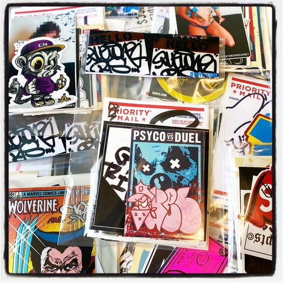 Image of GRAFFITI STICKER PACKS