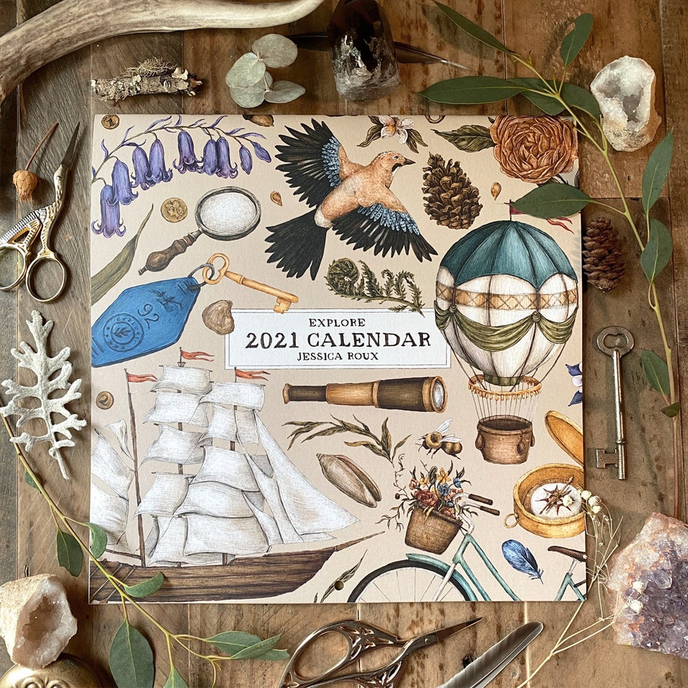 Image of 2021 Wall Calendar