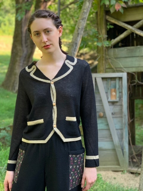 Image of Antipast Trompe L'Oeil Sweater (Two Colors)