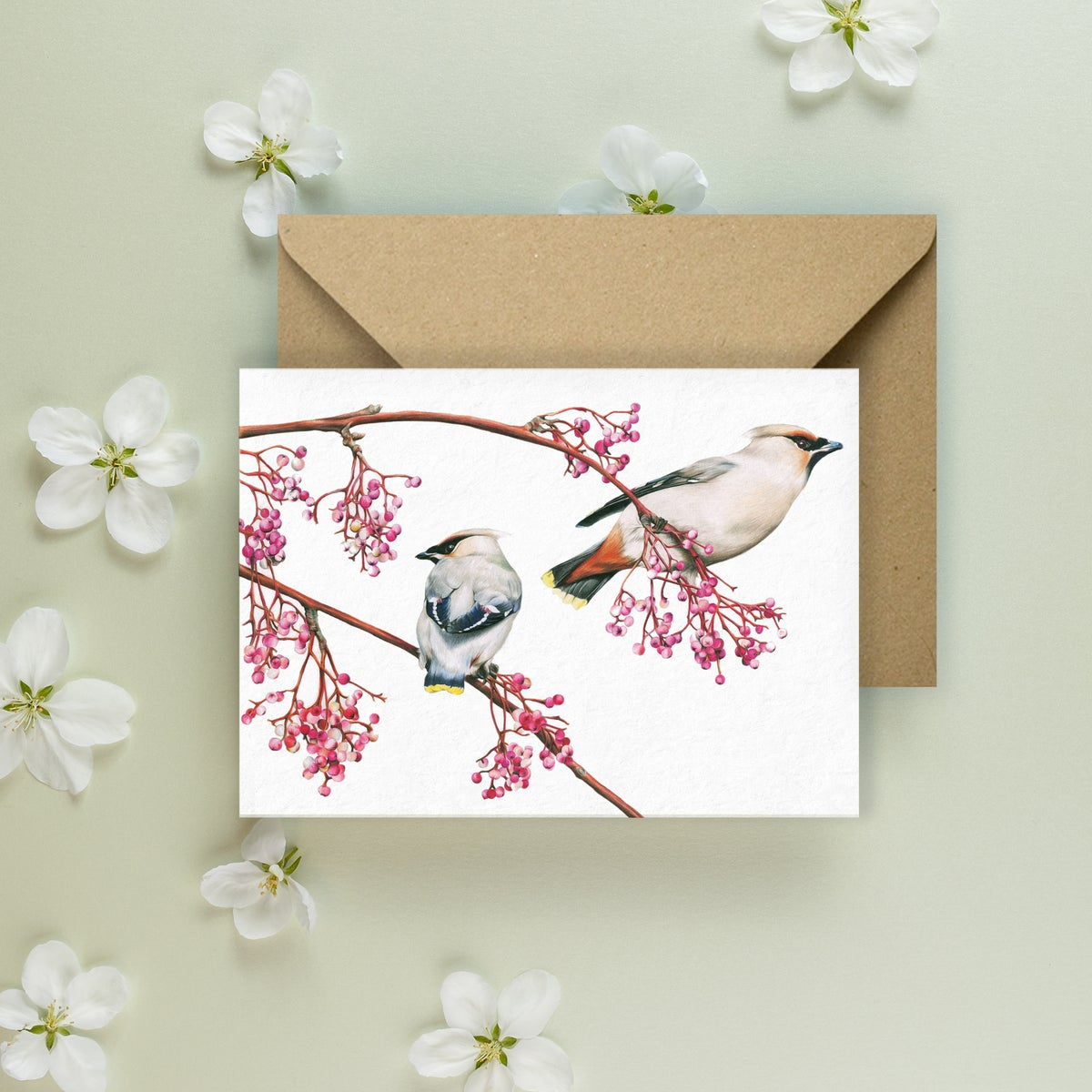 Image of 'Winters Delight' Greeting Card