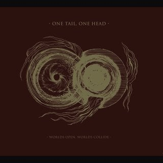 "Image of One Tail, One Head - Worlds open, worlds collide 12"" LP"