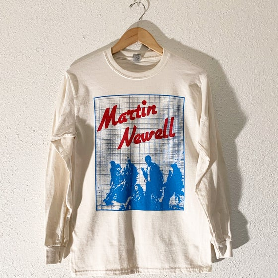 "Image of Martin Newell ""Young Jobless"" Long Sleeve Tee"