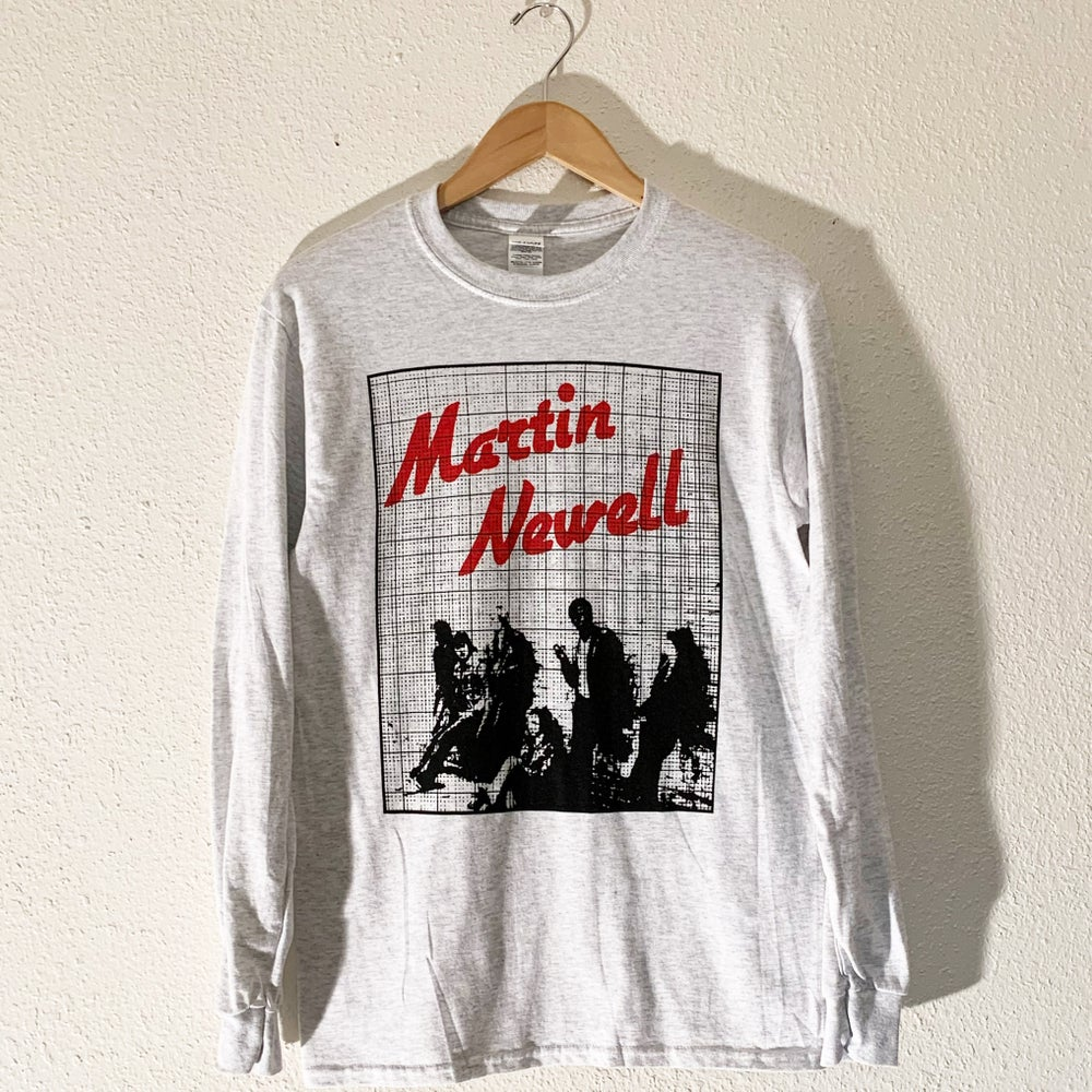 """Image of Martin Newell """"Young Jobless"""" Long Sleeve Tee"""