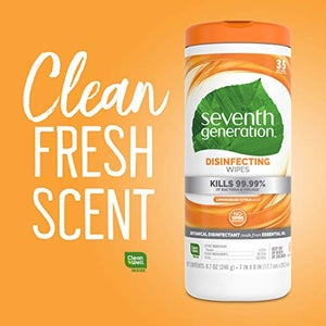 Image of Seventh Generation Disinfecting Wipes