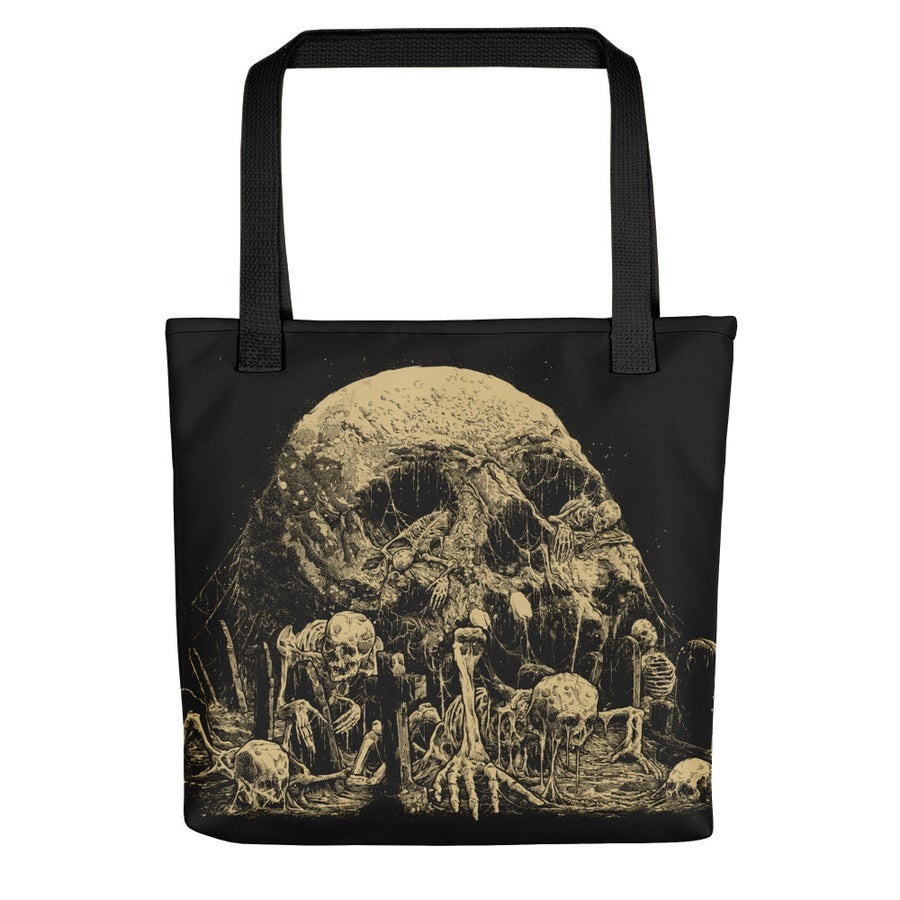 Image of Graveyard Tote bag