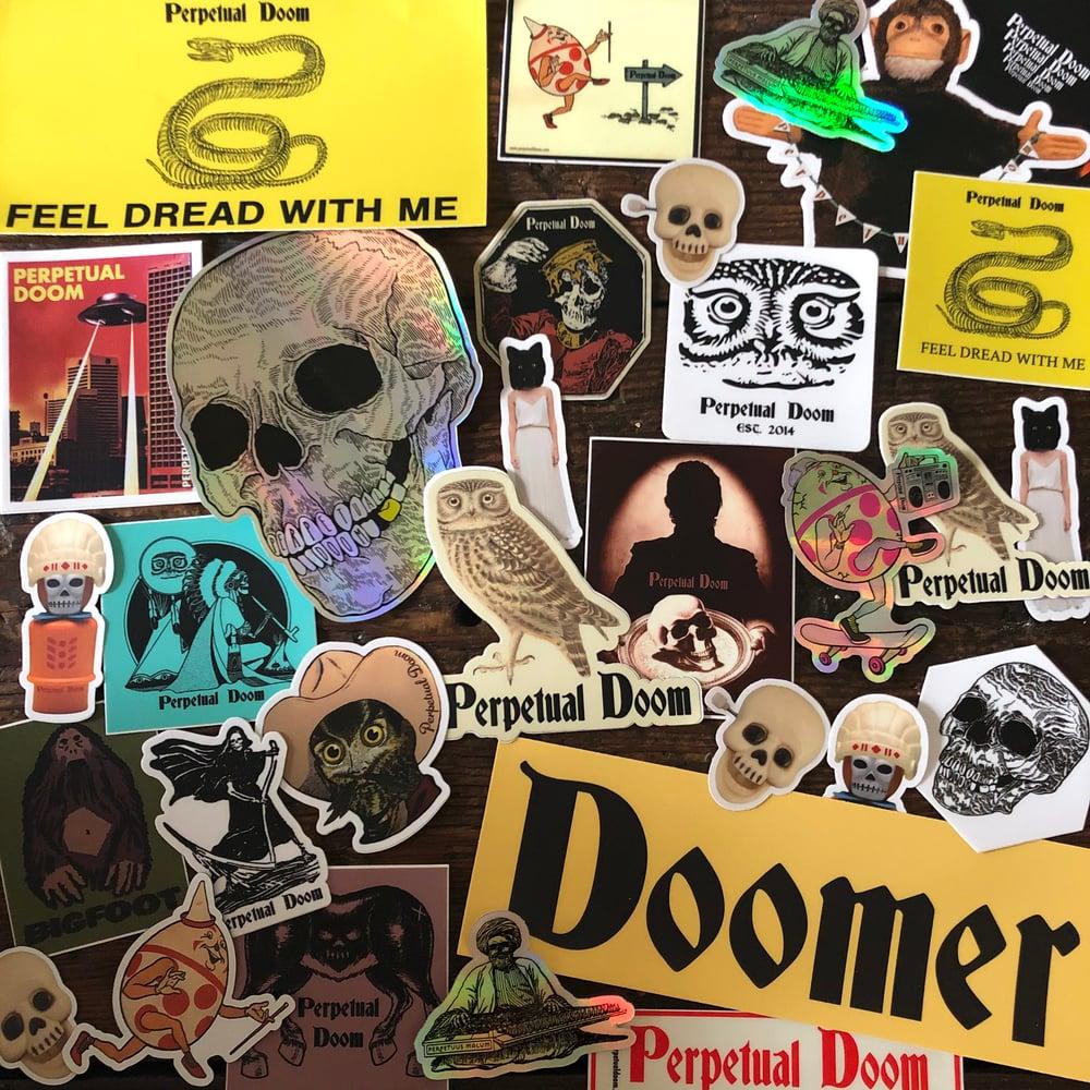 Assorted Perpetual Doom Sticker Pack