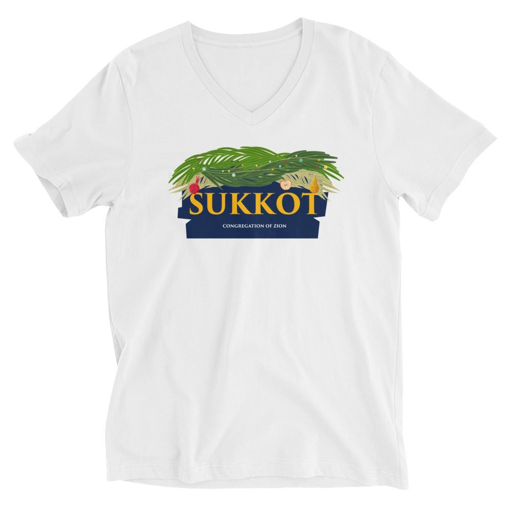 Image of Sukkot V-Neck Tee