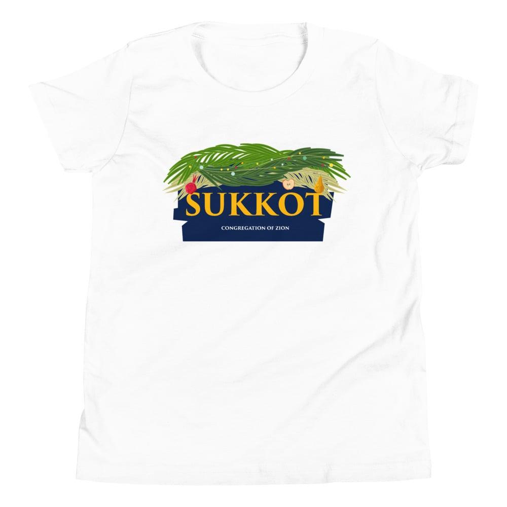 Image of Sukkot Youth Crewneck Tee