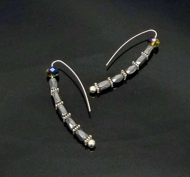 Image of Cool Hematite Hooks