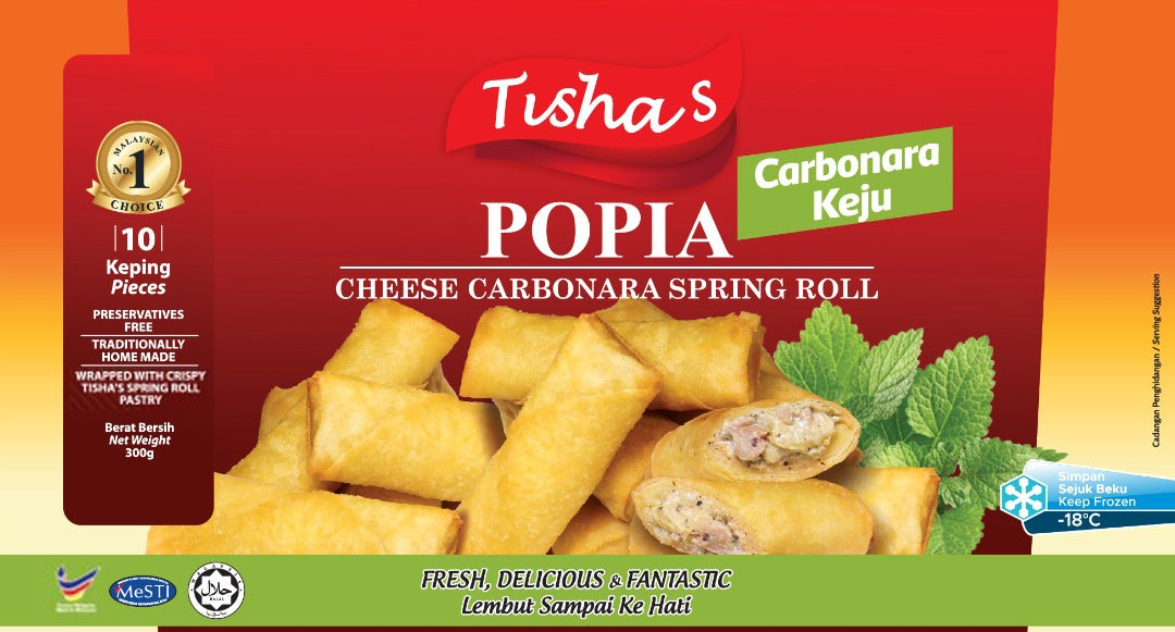 Image of TISHA'S POPIAH CHEESE CARBONARA [NEW!]