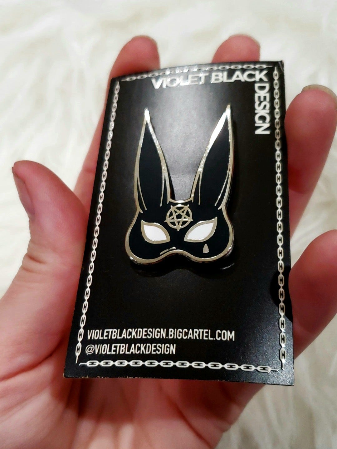 Image of SINS enamel pin