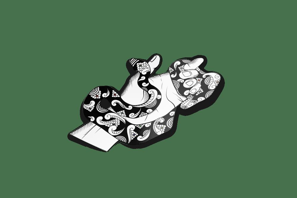 Image of DWNCST'S HËBI (Black Glitter Spot Holo)