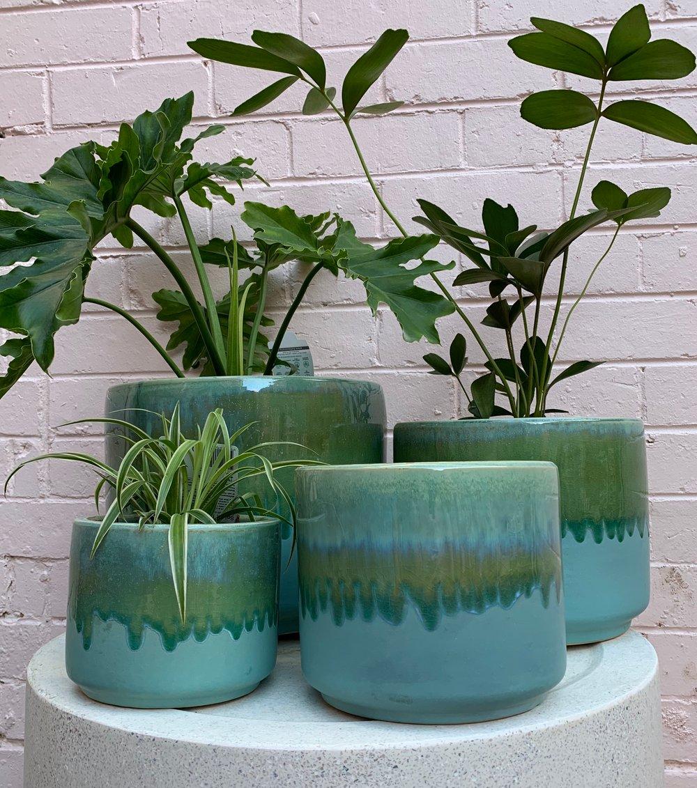 Image of Douglas & hope glazed pots s