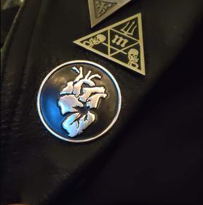 Image of Vigor Deconstruct | Metallic Logo Pin