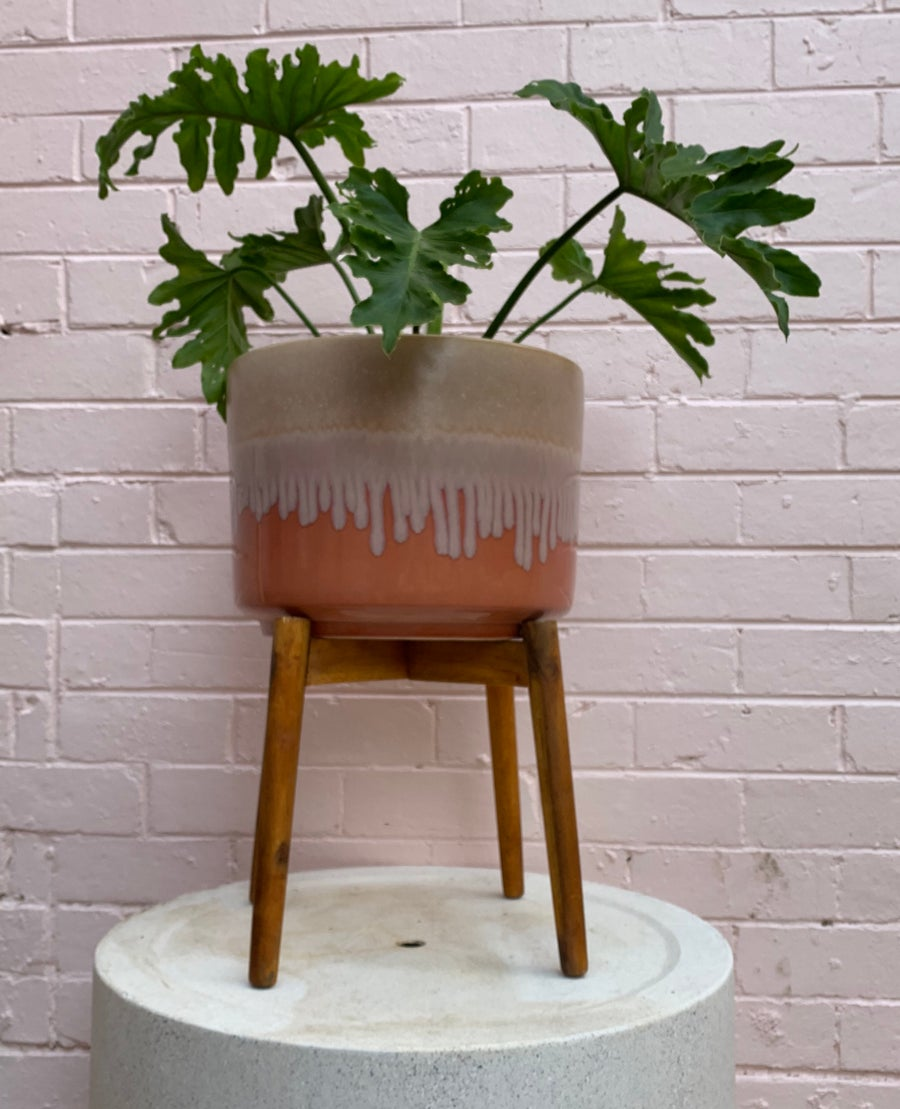 Image of Wooden pot stands