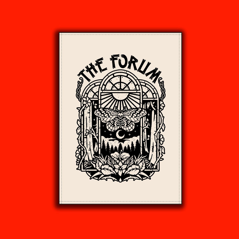 forum tea towel