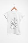 """""""Unfair"""" T-Shirt (White, Ladies Fit)"""
