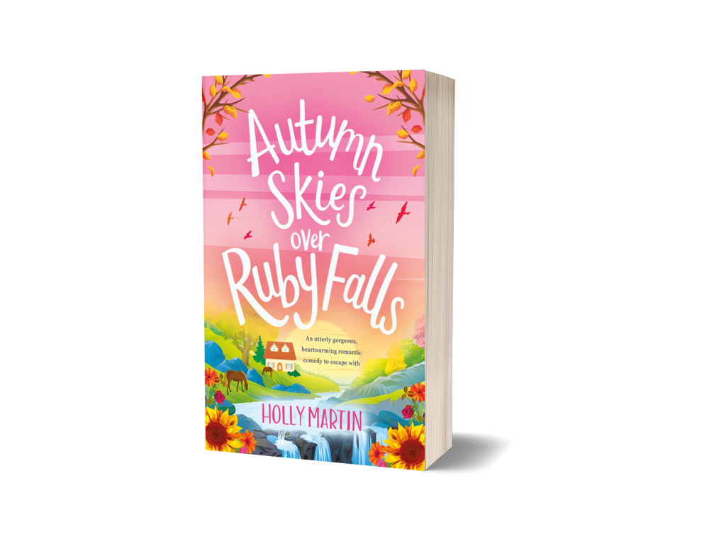 Image of Signed paperback of Autumn Skies over Ruby Falls