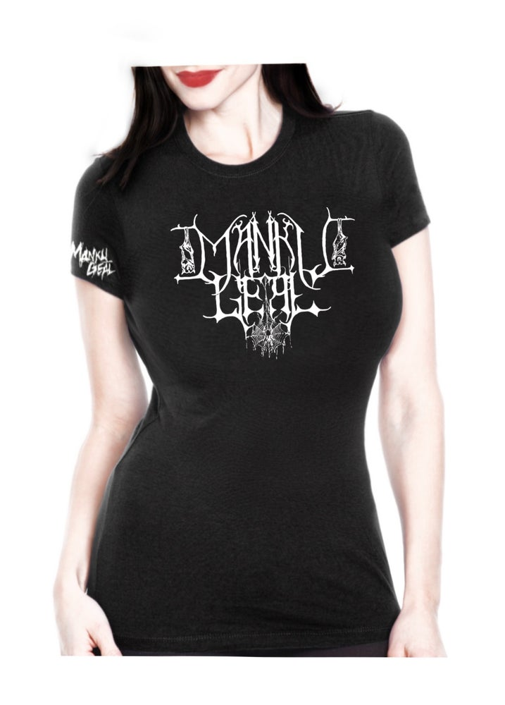 Image of Mankult Women's Black Tee