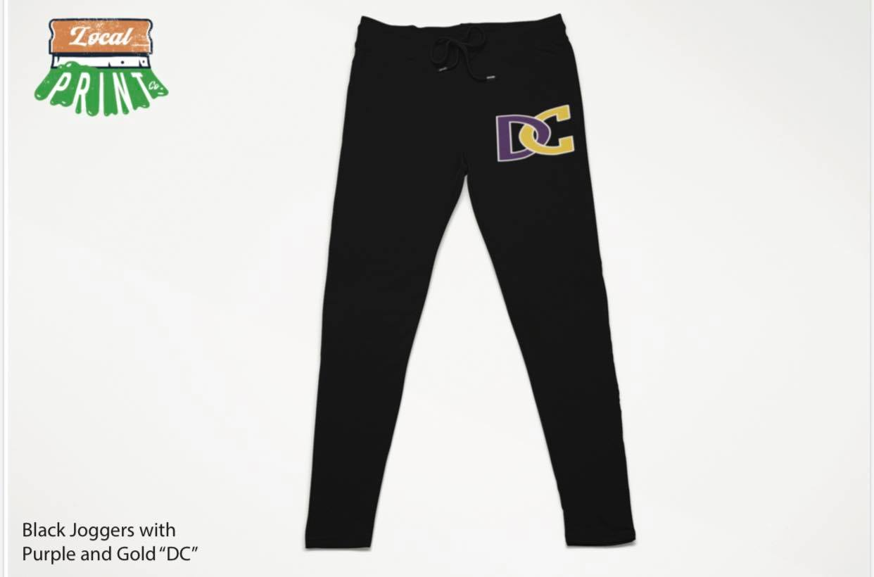 Image of Desoto Central Joggers - DC logo