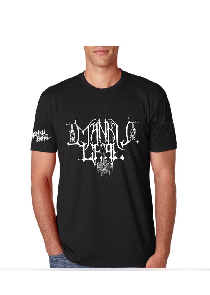 Image of Mankult Mens Black Tee