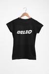 Deleo T-Shirt ( Black, Ladies Fit)