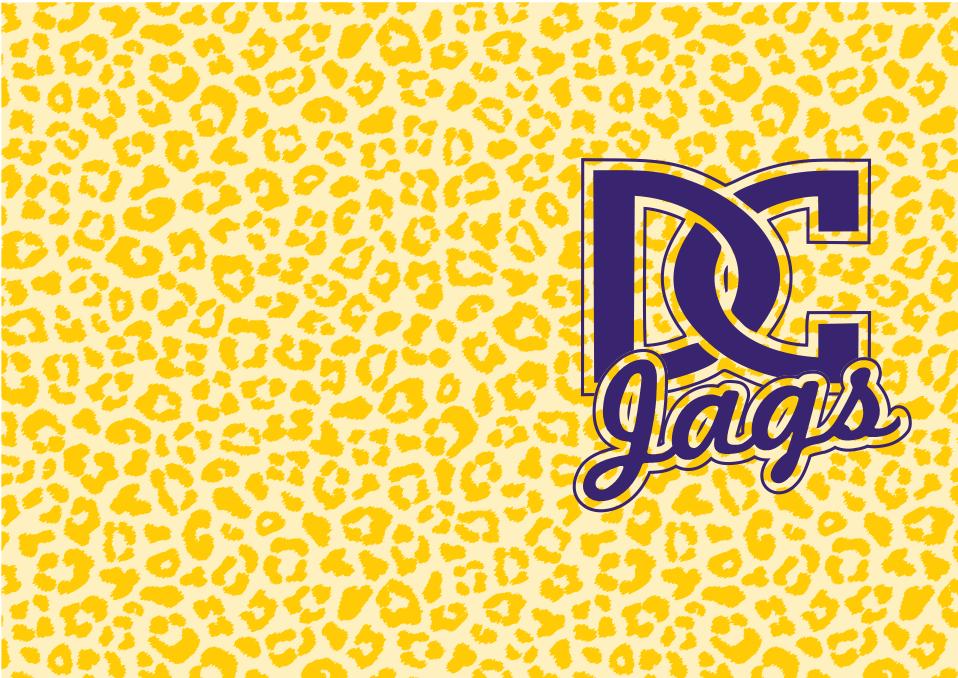 Image of Desoto Central Jaguars Mask- Gold print