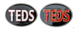 """Image of """"TEDS"""" Belt Buckle ( two designs available)"""
