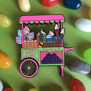 Image of Candy Cart Pin