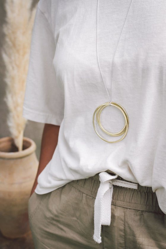 Image of Minimal cluster necklace