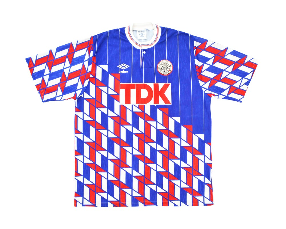 Image of 1989-90 Umbro Ajax Away Shirt L