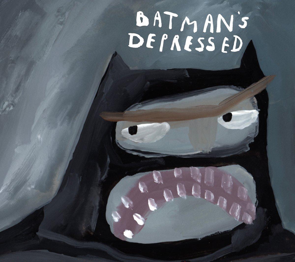 Batman's Depressed Comic