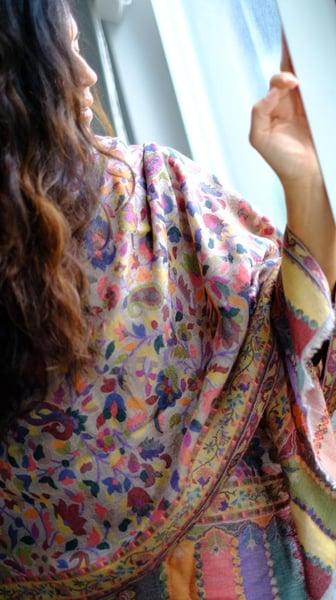 Image of Multi Kani shawl
