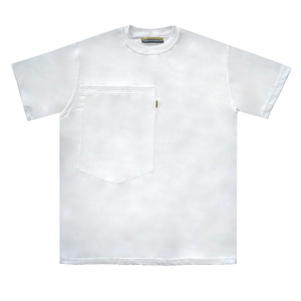 Image of Oversized Pocket Tee (White)