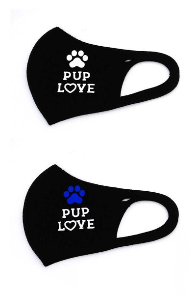 Image of Kids Face Mask - PUP LOVE
