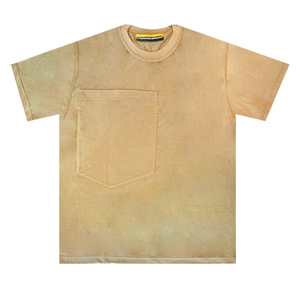 Image of Oversized Pocket Tee (Sand)