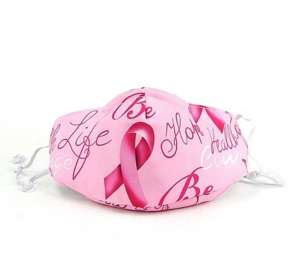 Image of Breast Cancer Face Mask